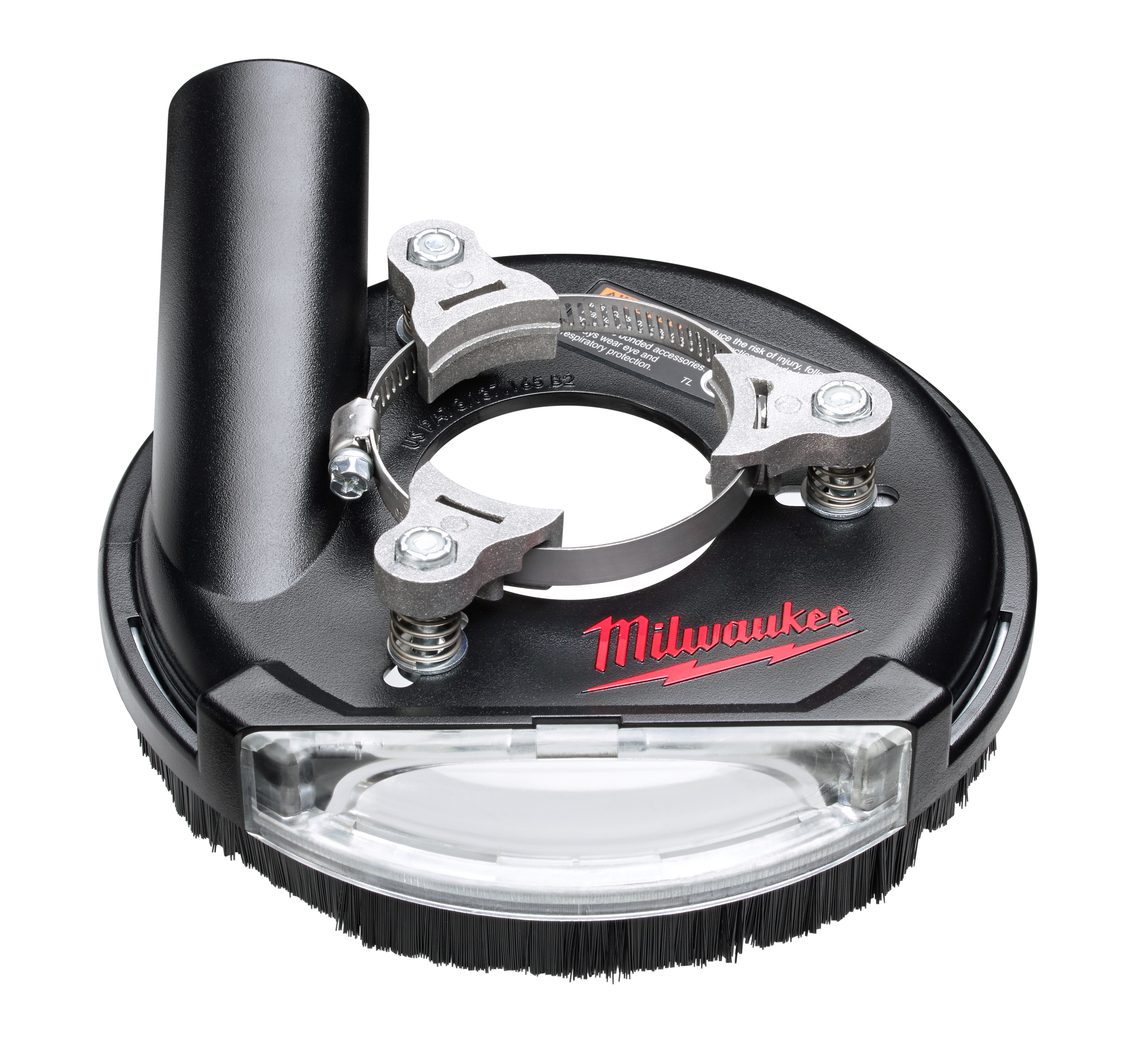 Milwaukee® 49-40-6100 Universal Surface Dust Shroud, For Use With Universal Grinder, 5/16 in H Collar, 9/32 in H Min Insert, 1 and 1-2 to 2 and 3-16 in Fits Collar Dia