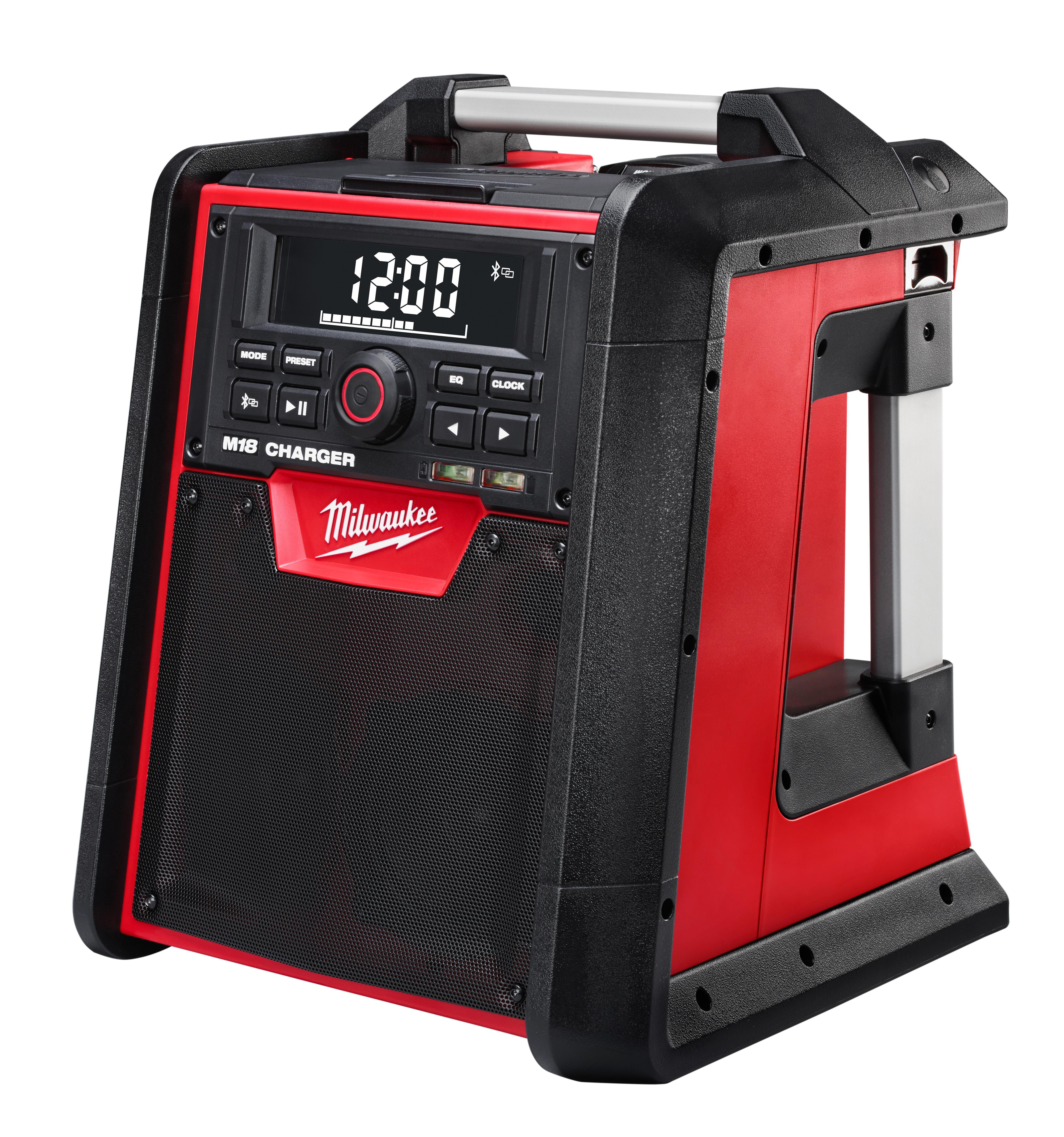 Milwaukee® M18™ 2792-20 Jobsite Radio/Charger, 18 VDC, Lithium-Ion Battery