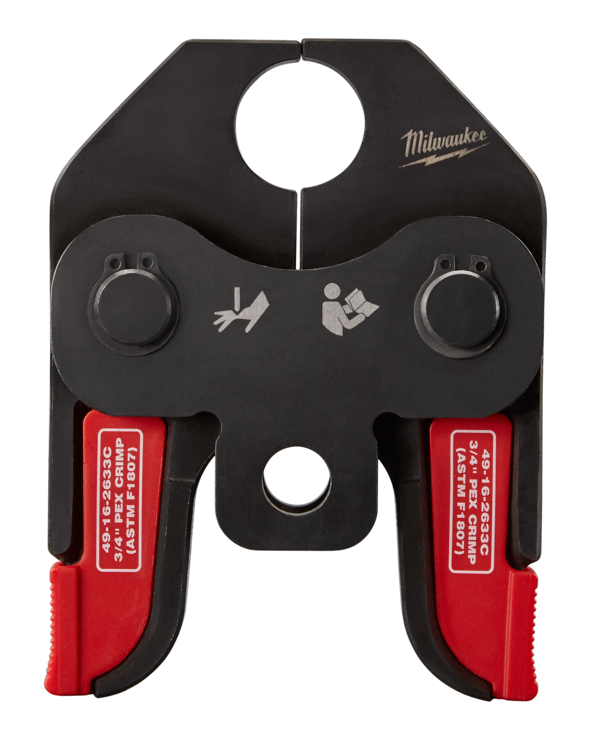 Milwaukee® 49-16-2633C PEX Crimp Jaw, For Use With M18™ Short Throw Press Tool, F1807 and F2159 Fitting System, 3/4 in Jaw Capacity, Steel