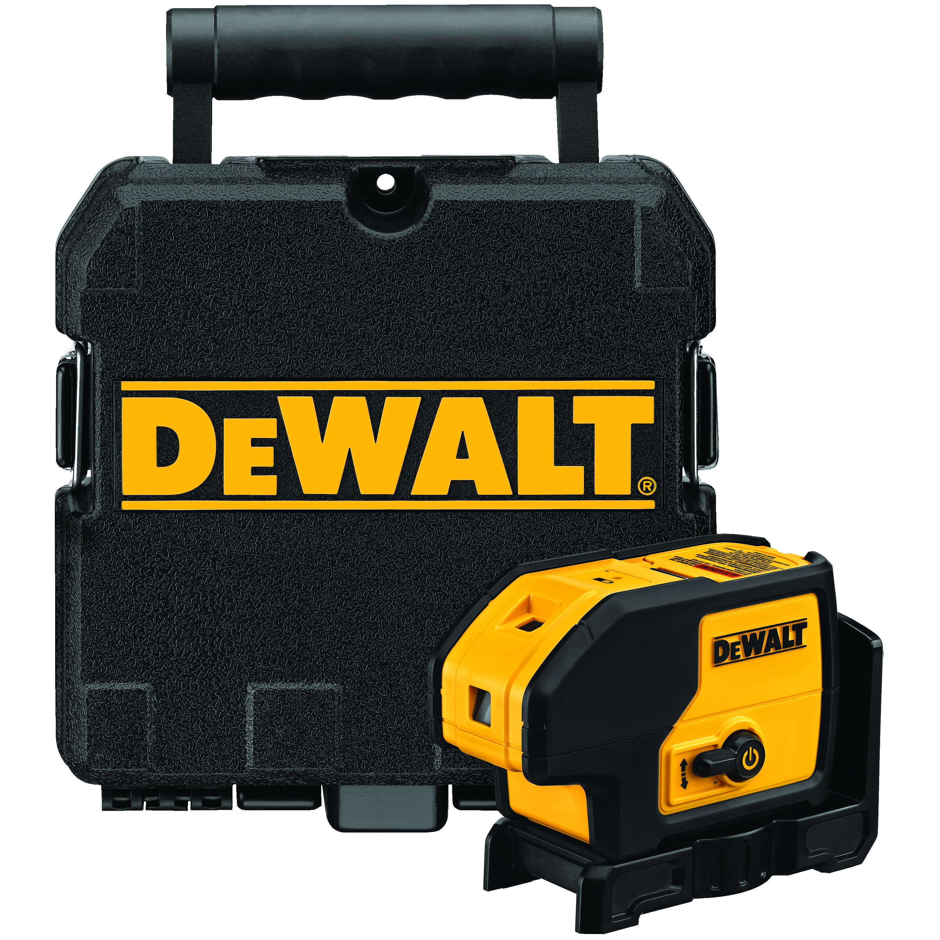 **Sale! Add to cart, save 15% more  - DeWALT® DW083K Electronic Self-Leveling Rotary Laser Level Kit, 100 ft Measuring, +/-1/4 in at 100 ft Accuracy, +/-4 deg Auto Leveling, 3 Beams