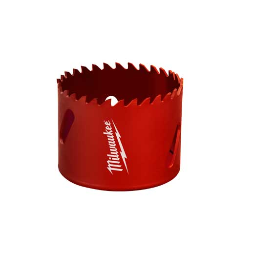Milwaukee® 49-56-3253 Straight Pitch Hole Saw, 3-1/4 in Dia, 1-5/8 in D Cutting, Tungsten Carbide Cutting Edge