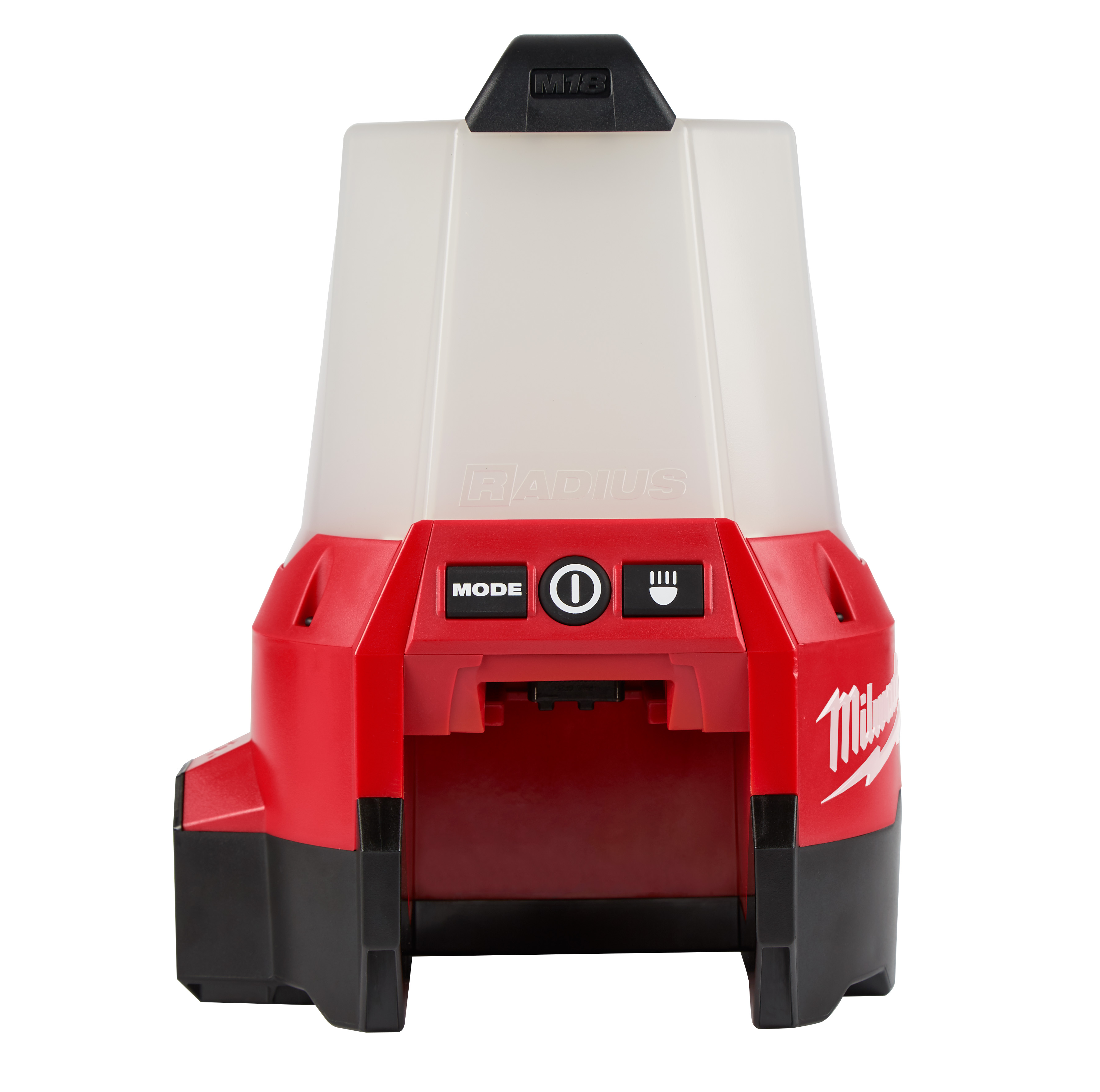 Milwaukee® M18™ RADIUS™ 2144-20 Cordless Compact Site Light With Flood Mode, LED Lamp, 18 VDC, 5 Ah Lithium-Ion Battery