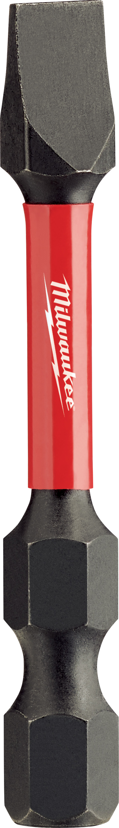Milwaukee® SHOCKWAVE™ 48-32-4158 Impact Power Bit, 1/4 in Slotted Point, 2 in OAL, 1/4 in, Custom Alloy76™ Steel