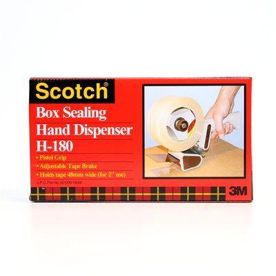 3M™ 021200-19008 H180 Handheld Box Sealing Tape Dispenser, 2 in W Tape