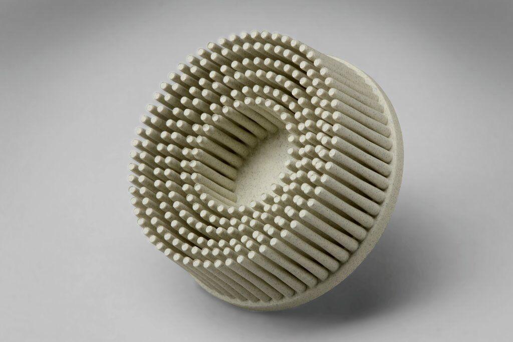 3M™ Roloc™ 048011-18710 RD-ZB Quick-Change Bristle Disc Brush, 1 in Dia Brush, 5/8 in Center Hole, Ceramic Fill