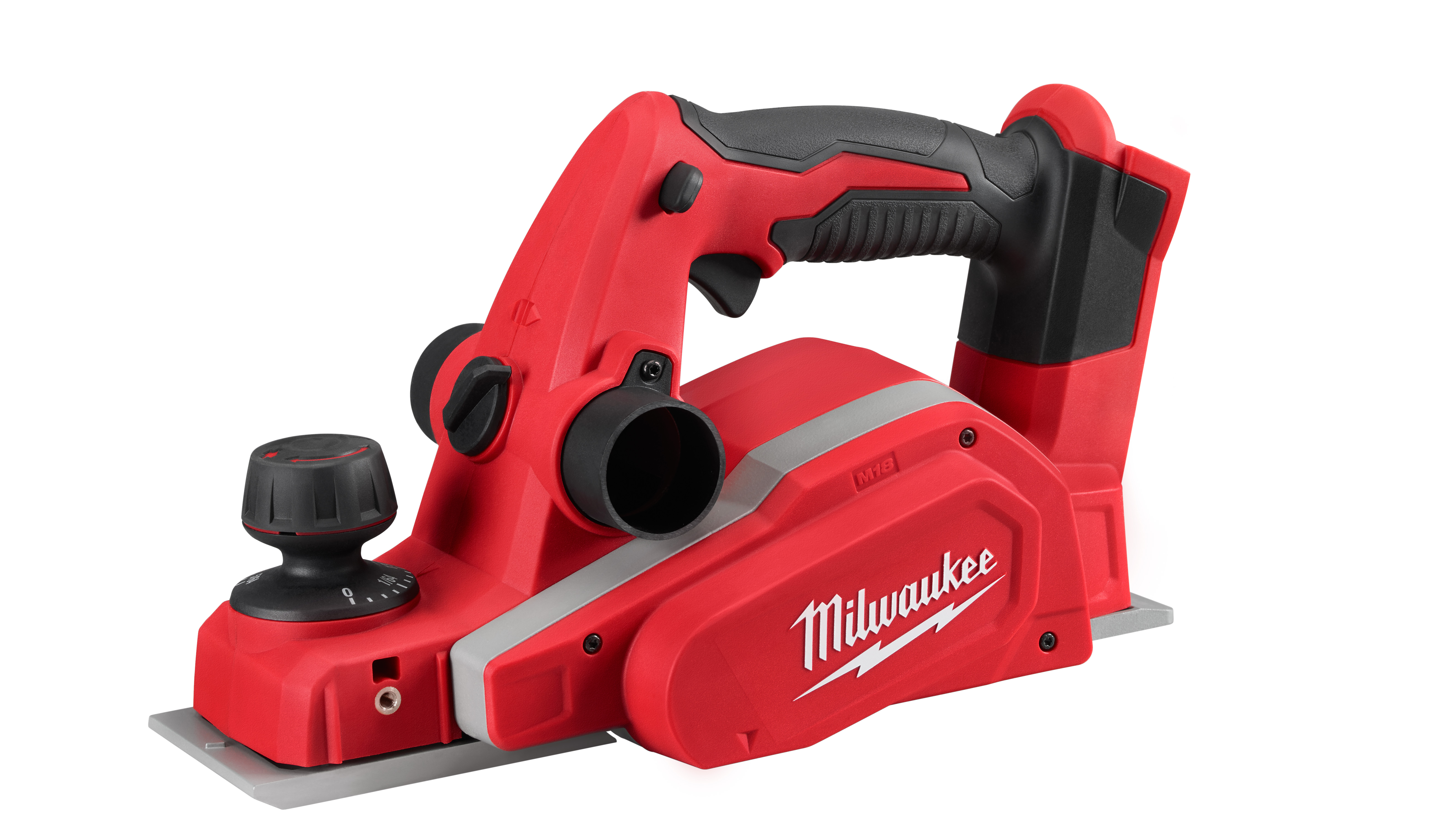Milwaukee® M18™ 2623-21 Planer Kit, 3-1/4 in W Cutting, 5/64 in Depth of Cut, 14000 rpm Speed, 18 VDC, REDLITHIUM™ XC™ Battery