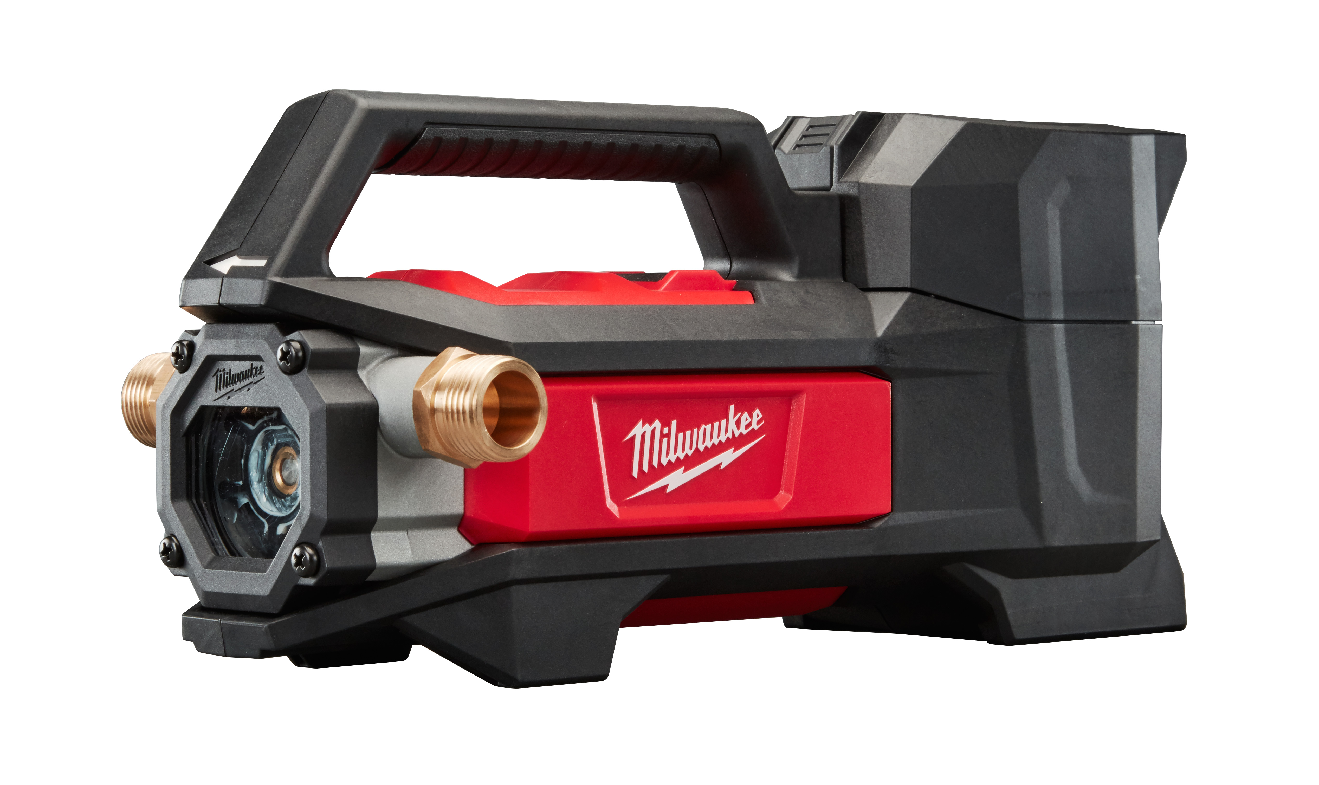 Milwaukee® M18™ 2771-20 Cordless Transfer Pump, 480 gph Flow Rate, 3/4 in Inlet x 3/4 in Outlet, 0.25 hp, Nitrile Rubber/Reinforced Plastic, Import