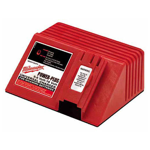 Milwaukee® 48-59-0255 AC Universal Charger, For Use With 12 to 18 VDC Power Plus Battery, Ni-Cd and Nickel Metal Hydride Battery, Ni-Cd Battery, 1 hr Charging