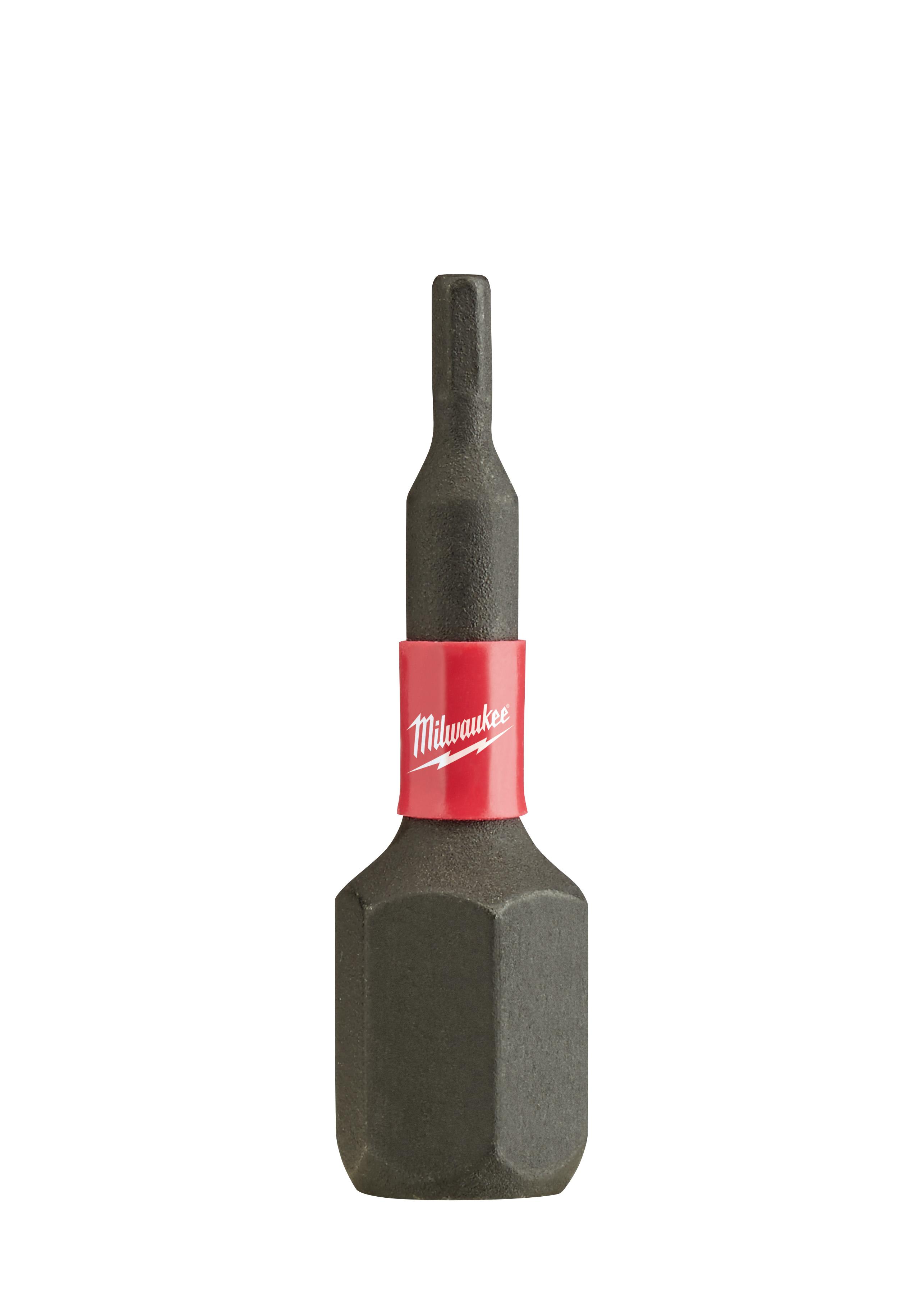 Milwaukee® SHOCKWAVE™ 48-32-4700 Impact Insert Bit, 1/16 in Hex Point, 1 in OAL, Proprietary Steel