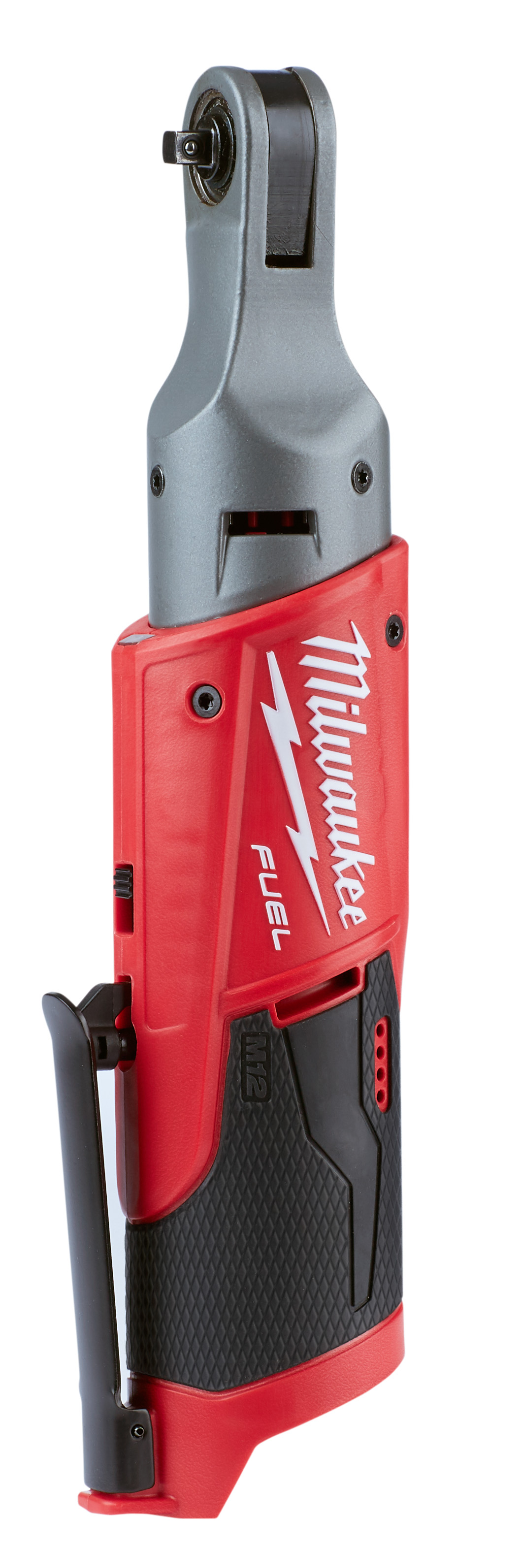 Milwaukee® M12™ FUEL™ 2556-20 Cordless Ratchet, 1/4 in Drive, 40 ft-lb Torque, 0 to 250 rpm Speed, 12 VDC, Lithium-Ion Battery, 3.65 in OAL