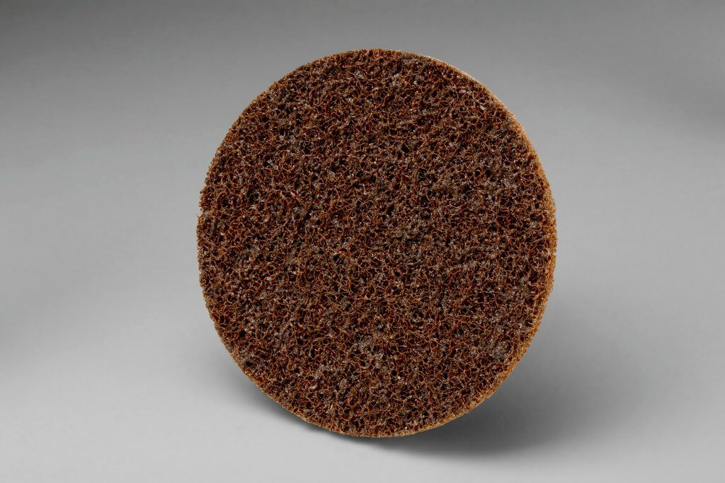 3M™ Roloc™ 048011-12954 SC-DR Surface Conditioning Disc, 4 in Dia Disc, Coarse Grade, Aluminum Oxide Abrasive, Type TR Attachment