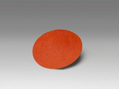 3M™ 11453 963G Close Coated Abrasive Disc, 1-1/2 in Dia Disc, 120 Grit, Fine Grade, Ceramic Abrasive, Type TR Attachment