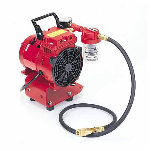 Milwaukee® 49-50-0200 Heavy Duty Vacuum Pump Assembly, For Use With 49-22-7100 Pad, 120 VAC, 1/3 hp