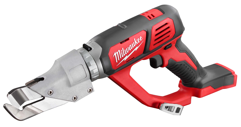 Milwaukee® M18™ 2637-20 Single Cut Cordless Shear, 18 ga Steel, 20 ga Stainless Steel Cutting, 2300 spm, 16-1/2 in OAL, Lithium-Ion Battery