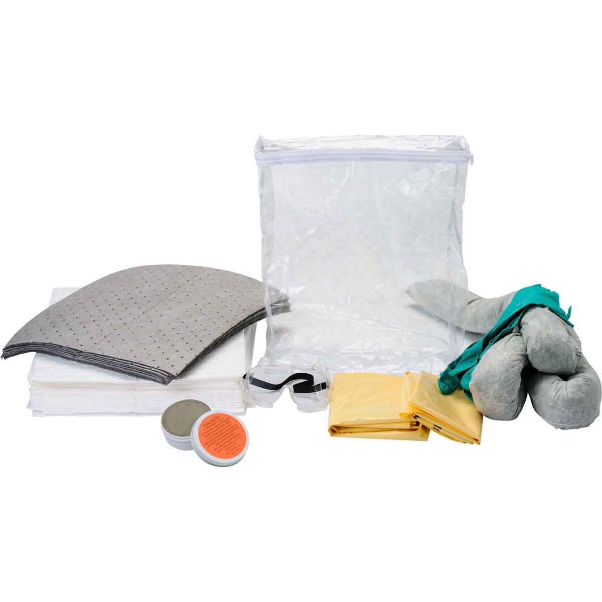 SPC® BSCSK-CB Vehicle Spill Kit, 7.75 gal Bag, Fluids Absorbed: Universal