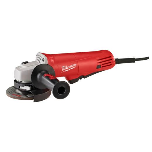 Milwaukee® 6140-30 Small Angle Grinder, 4-1/2 in Dia Wheel, 5/8-11 Arbor/Shank, 120 VAC