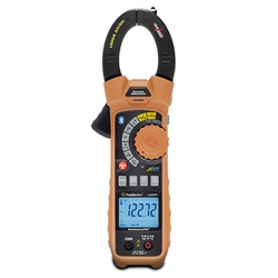Southwire® MaintenancePRO™ 59686801 Auto-Ranging Smart Clamp Meter, 1000 VAC/VDC, 1000 A, 50 MOhm, 10 MHz, 1-1/2 in Jaw, LCD Backlit Display