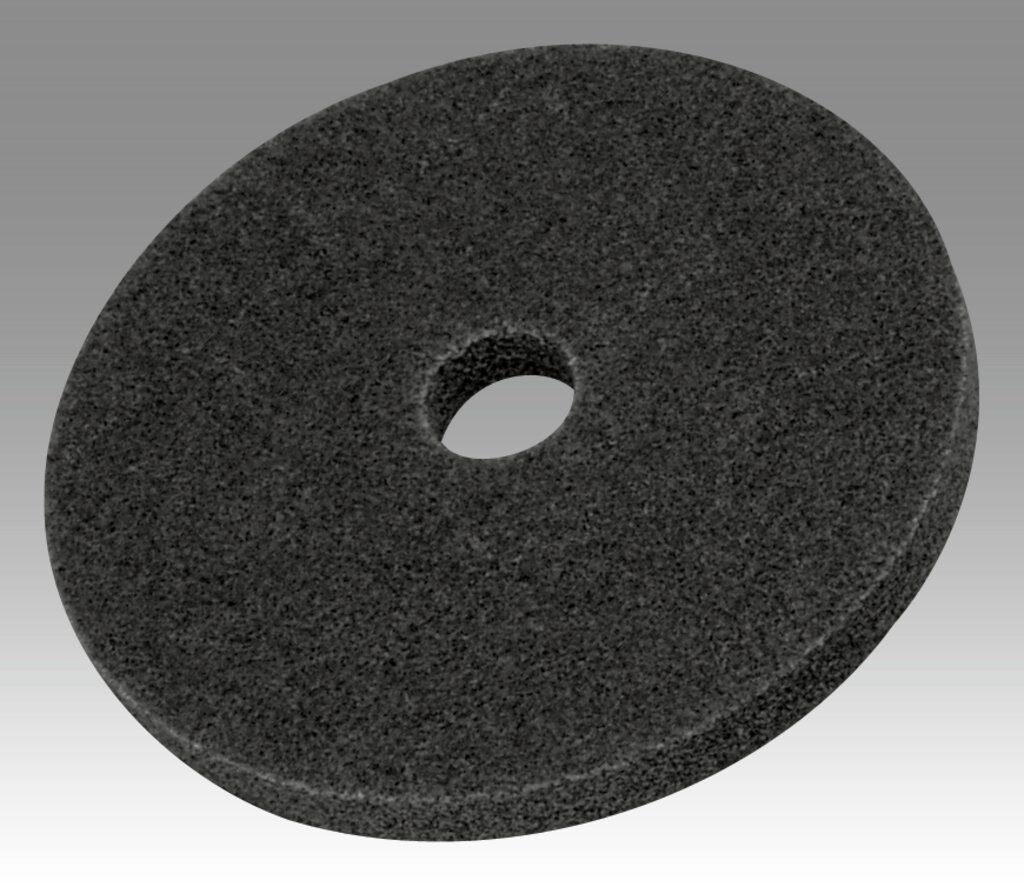 3M™ 13719 EXL High Performance Unitized Wheel, 6 in Dia Wheel, 1/2 in Center Hole, 1/2 in W Face, Fine Grade, Silicon Carbide Abrasive