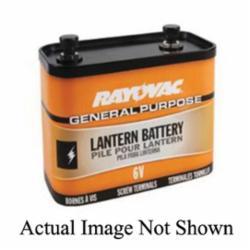 Rayovac® 918C Lantern Battery, Zinc Carbon, 6 VDC, 22000 mAh, 9V