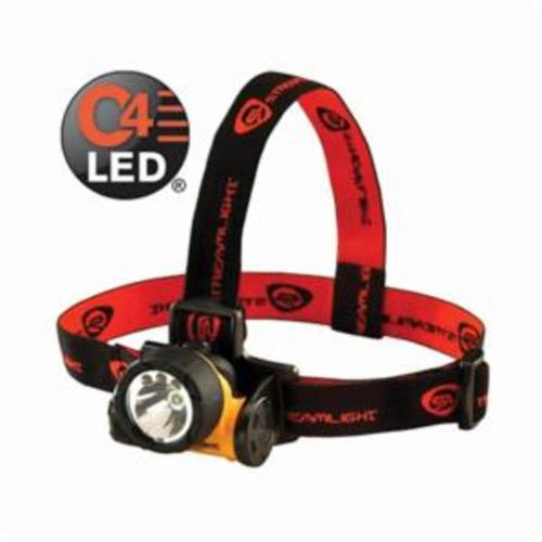 Streamlight® 61050 Non-Rechargeable Head Lamp, LED/Incandescent Bulb, ABS Housing, 80 Lumens