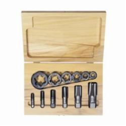 Irwin® Hanson® 1920 Re-Threading Tap and Die Set, Imperial, 12 Pieces, 1/8-27 to 1-11-1/2 Tap Thread, 1/8-27 to 1-11-1/2 Die Thread, NPT Thread, Hexagon Die