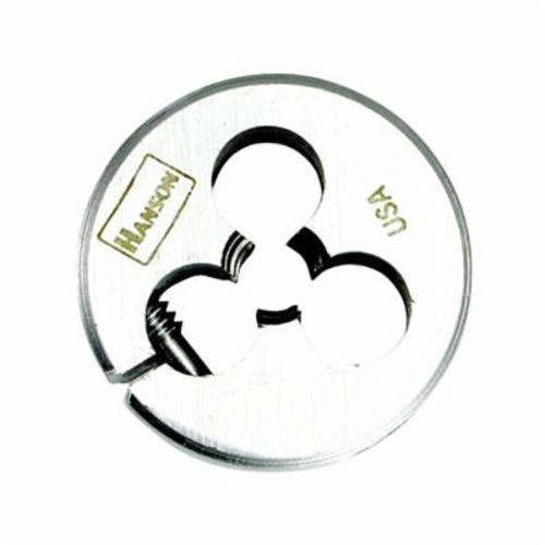 Irwin® Hanson® 3827 Adjustable Round Threading Die, 5/16-18 UNC Thread, 1 in OD Die, High Carbon Steel