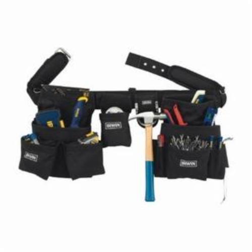 Irwin® ArmorMAX™ 4031049 Construction Rig, 6 Pockets, Polyester, Black