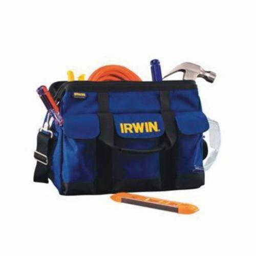Irwin® 420003 PRO Extra Wide Soft Side Tool Organizer, 9-1/2 in H x 15 in W x 10-1/2 in D, 24 Pockets, 600D Polyester
