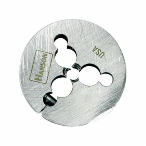 Irwin® Hanson® 4052 Adjustable Round Threading Die, 5/8-11 UNC Thread, 1-1/2 in OD Die, High Carbon Steel