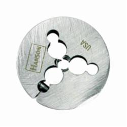 Irwin® Hanson® 4052 Adjustable Round Threading Die, Imperial, 5/8-11 UNC Thread, 1-1/2 in OD Die, High Carbon Steel