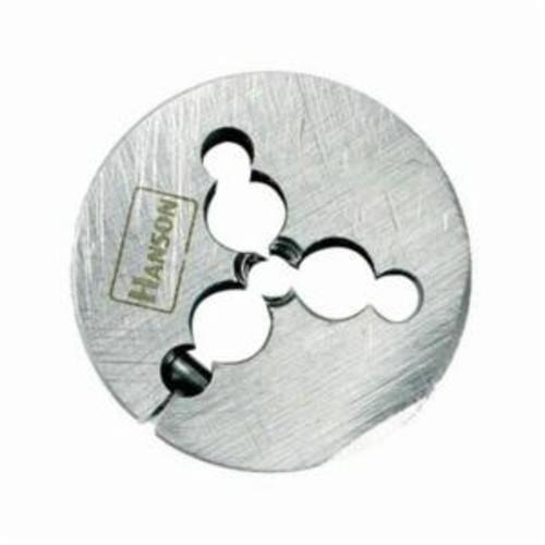 Irwin® Hanson® 4058ZR Adjustable Round Threading Die, 3/4-10 UNC Thread, 1-1/2 in OD Die, High Carbon Steel