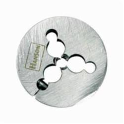 Irwin® Hanson® 4058ZR Adjustable Round Irwin® Hanson® Threading Die, Imperial, 3/4-10 UNC Thread, 1-1/2 in OD Die, High Carbon Steel