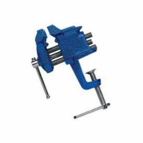 Irwin® Record® 226303ZR Light Duty Portable Bench Vise, 2 in Jaw Opening, 3 in W Steel Jaw, 1-5/8 in D Throat