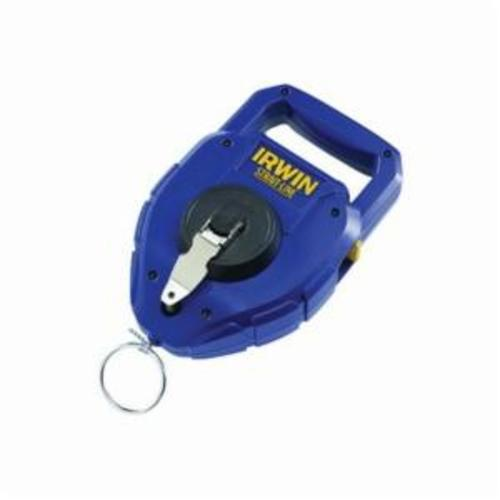 Irwin® Strait-Line® 2031311 Large Capacity Chalk Line Reel, 150 ft L Nylon/Polyester Line, 14 oz Chalk, Sliding Side Door, Steel Crank Handle