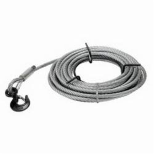 JET® 286574 Wire Rope, 5/16 in Dia, 66 ft L, For Use With JG Grip Pullers, Steel
