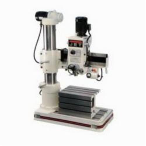 JET® 320033 Radial Arm, 3 hp, 230/460 VAC, 3 in Swing, 23-5/8 x 17-1/2 x 15 in Table