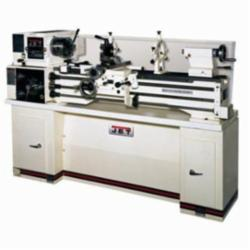 JET® 321102AK Belt Drive With Stand, 13 in Swing Over Bed, 7-25/32 in Swing Over Cross Slide, 40 in Distance Between Centers, #5 Morse Taper Spindle, 2 hp