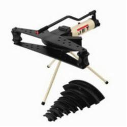 JET® 331910 Hydraulic Pipe Bender, 1/2 to 3 in, 6/25 in THK, 20 ton