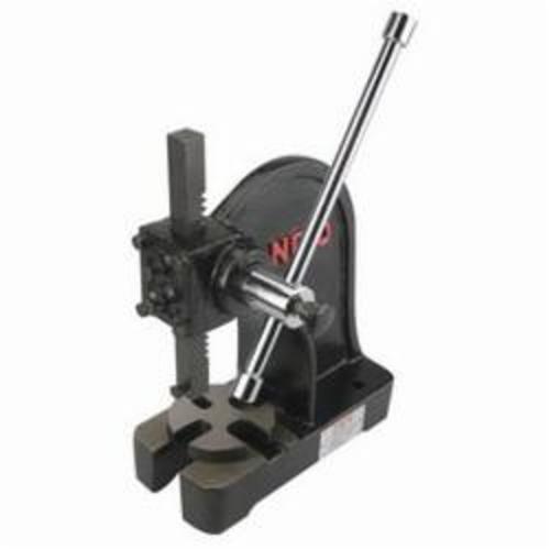 JET® 333630 Arbor Press, 3 ton Capacity, 18 in L x 8-1/2 in W Base, 22-1/2 in H, Manual Power