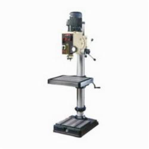 JET® 354020 Geared Head, 2 hp, 230 VAC, 20 in Swing, 21-3/4 x 19-1/2 in Table