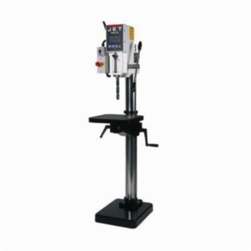 JET® 354031 Arboga Gear Head With Power Down Feed 440 V, 3 Ph, 1 to 1-1/2 hp, 440 VAC, 15-3/4 x 19-3/4 in Table