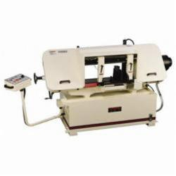 JET® 414476 Horizontal Variable Speed Pulley Band Saw, 12 in Round, 12 x 12 in Rectangle 45 deg Capacity, 12 in Round, 12 x 20 in Rectangle 90 deg Capacity, 3 hp, 230/460 VAC, 82 to 262 sfpm Speed