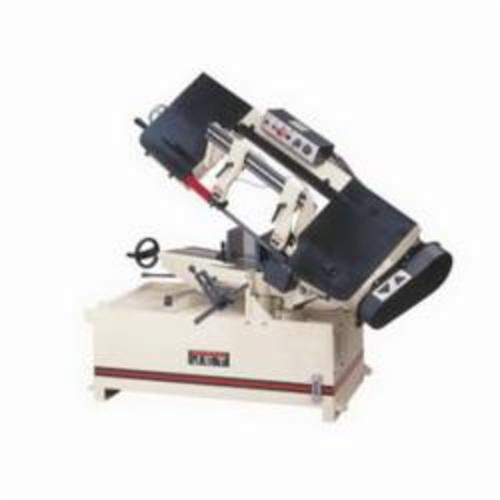 JET® 414477 Horizontal Miter Step Pulley Band Saw, 9 in Round, 9 x 8-1/2 in Rectangle 45 deg Capacity, 10 in Round, 10 x 14 in Rectangle 90 deg Capacity, 3 hp, 230/460 VAC, 82/132/210/330 sfpm Speed