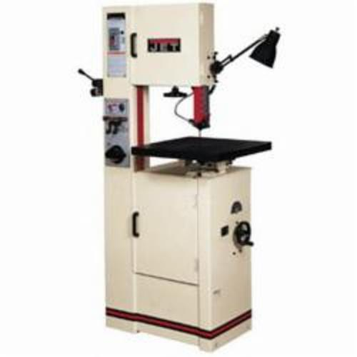 JET® 414483 Variable Speed Pulley Vertical Band Saw, 1 hp, 115/230 VAC, 14/7 A, 82 to 3950 sfpm Speed
