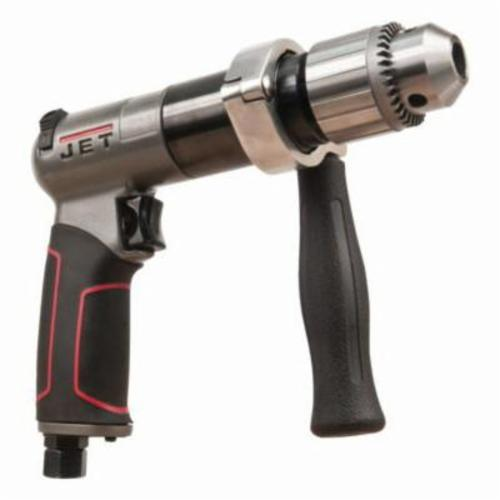 JET® 505611 R8 Air Drill, 1/2 in Keyed Chuck, 1/2 hp, 4 cfm Air Flow, 90 psi, 8-13/16 in OAL