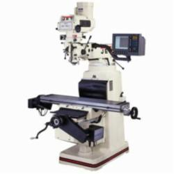 JET® 690938 JTM-4VS CNC G2 With 2-Axis ACU-RITE G-2 MILLPWR CNC, 9 in L x 49 in W Table, 14-1/2 in Knee, 12 in Cross