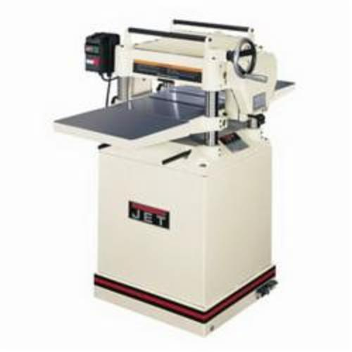 JET® 708543 Helical Head Planer, 14-7/8 in W Cutting, 3/16 in Depth of Cut, 4500 rpm Speed, 3 hp, 230 VAC, Tool Only
