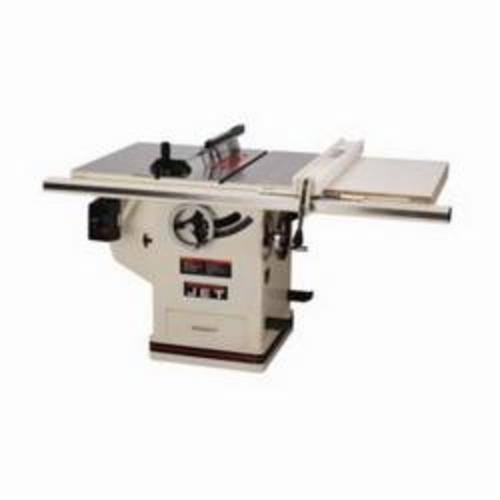 JET® 708674PK DELUXE XACTA® Cabinet Table Saw, 10 in Dia Blade, 5/8 in Arbor/Shank, 2-1/8 in 45 deg Capacity, 3 in 90 deg Capacity, 3 hp, Tool Only
