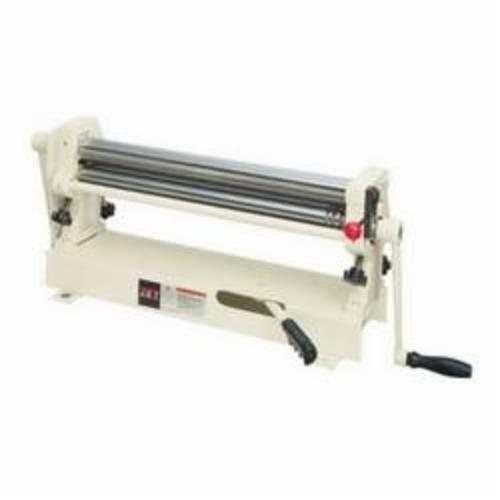 JET® 756020 Slip Roll, 24 in Max Forming Width, 1 in Min Forming Radius, 20 ga Mild Steel, 3 Wire Grooves, 2 in Dia Slip Roll, Bench Mount