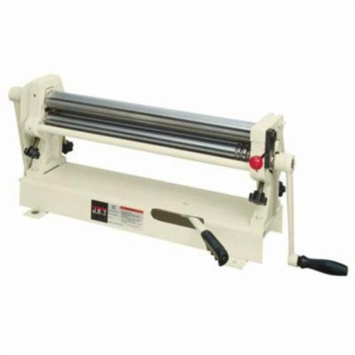 JET® 756026 Slip Roll, 36 in Max Forming Width, 1 in Min Forming Radius, 22 ga Mild Steel, 3 Wire Grooves, 2 in Dia Slip Roll, Bench Mount
